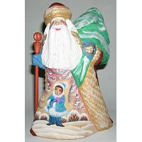 Santa Carved Figurine