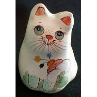 Kitty Porcelain Figurine Small