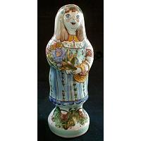 Girl Porcelain Figurine