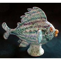 Fish Porcelain Figurine Large