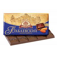 Babaevsky Dark Chocolate & Almonds Bar