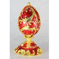 Ruby Faberge Style Egg