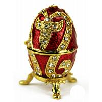 Ruby Lily Faberge Style Egg