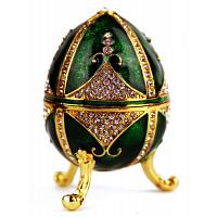 Emerald Easter Faberge Style Egg