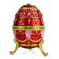 Royal Ruby Faberge Style Egg