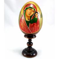 Mary & Jesus Christmas Egg
