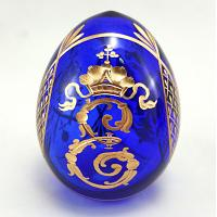 Catherine II Monogram Crystal Egg
