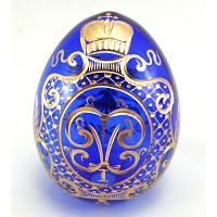 Romanov Monogram Crystal Egg