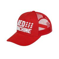 Red Machine Baseball Cap