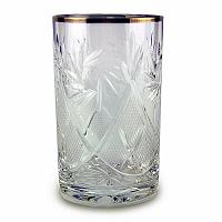 Golden Rim Crystal Glass