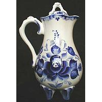 Gzhel Berry Pitcher