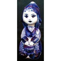 Gzhel Girl Figurine
