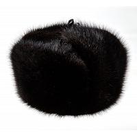 Real Muskrat Fur Ushanka Hat