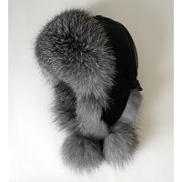 Women's Silver Fox Fur Hat