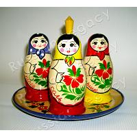 Matryoshka Set for Spices