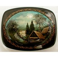 In the Woods Lacquer Box
