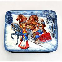 Russian Winter Jewellery Box