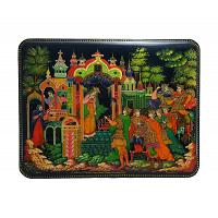 Sleeping Princess Lacquer Box
