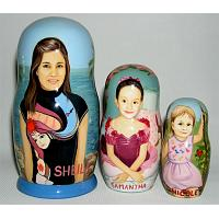 Surfer Personalized Nesting Doll