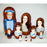 Graduation Custom Stacking Doll