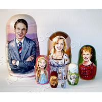 Custom Family Nesting Doll