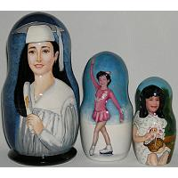 Graduation Custom Matryoshka