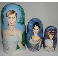 Custom Wedding Favor Matryoshka
