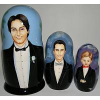 Custom Wholesale Wedding Nesting Doll