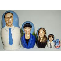 Family Souvenir Russian Doll