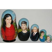 Family Custom Matrioshka