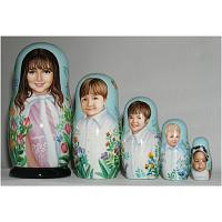 Kids Custom Russian Doll