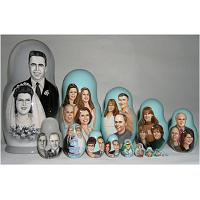 Family Custom Matryoshka