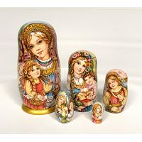 Village Life Russian Doll