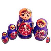 Flowers Babushka Doll