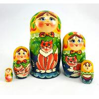 Ginger Stacking Doll