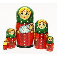 Newborn Matryoshka Doll