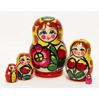 Maydan 5 Piece Stacking Doll