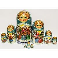 Winter Time Matrioshka