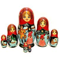 Winter Village Russian Doll