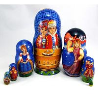 Russian Wedding Matryoshka