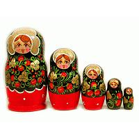 Strawberry Nesting Doll