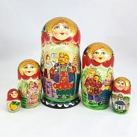Russian Dancing Matryoshka