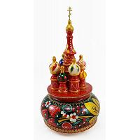 Khokhloma Russian Music Box