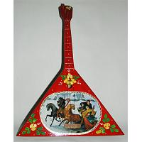 Personalized Decorative Russian Balalaika