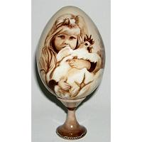 Little Girl Decorative Egg