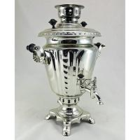 Electric Brass Russian Samovar