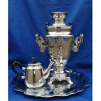 Clear Electric Samovar Set