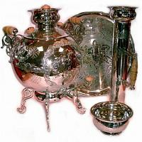 Troika Combined Samovar Set
