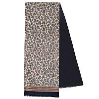 Multicolor Mixed Silk Woolen Scarf