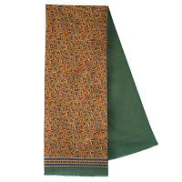 Exotic Mixed Silk Woolen Scarf